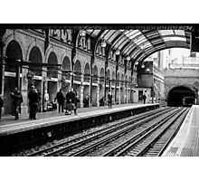 London Tube Station Photographic Print