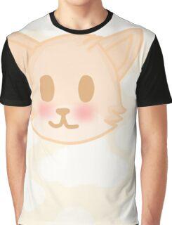 Pastel Fox Graphic T-Shirt