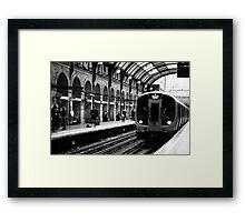 London Tube Framed Print