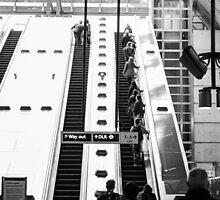 London Tube Station by Sajeev Chandrasekhara Pillai