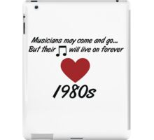 In memory of the pop artists we have lost iPad Case/Skin
