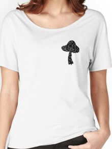 black shroom Women's Relaxed Fit T-Shirt
