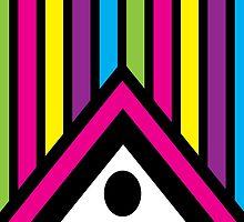Neon Prism by ArtfulDoodler