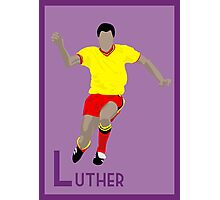 L: Luther Blissett POSTER Photographic Print