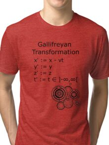 Gallifreyan Transformation Tri-blend T-Shirt