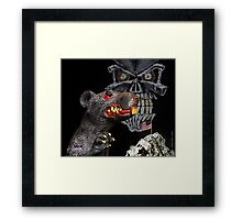 I have your skin in my game.  Framed Print
