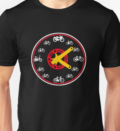 Cycling TShirt Anytime is a good time to ride Unisex T-Shirt