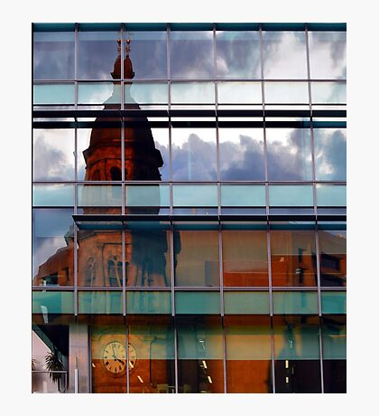 Adelaide Town Hal Reflection Photographic Print