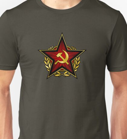 Russian Red Star Unisex T-Shirt