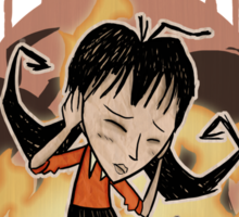Don't Starve- Willow Sticker