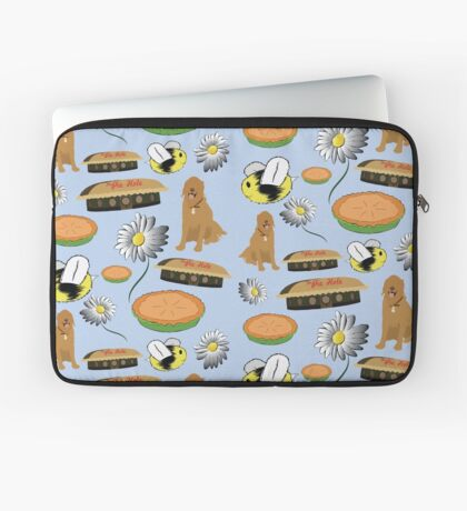 Pushing Daisies Pattern Laptop Sleeve