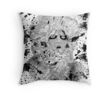 Nightmare at 20,000 feet Throw Pillow