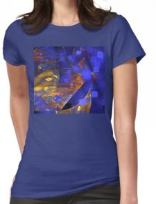 Sky Cities Womens Fitted T-Shirt