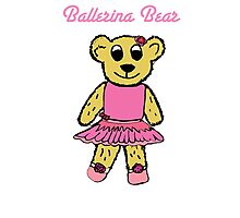 Ballerina Bear Photographic Print