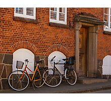 Bicycles of Aero 1 Photographic Print