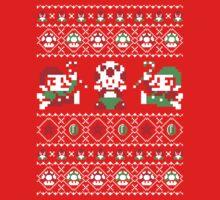 Super Christmas Bros Kids Clothes