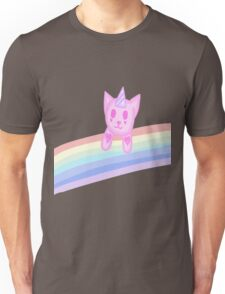 Rainbow Cat Unisex T-Shirt