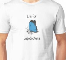 L is for Lepidoptera Unisex T-Shirt
