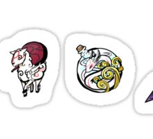 Okami Brush Gods Set1 Sticker