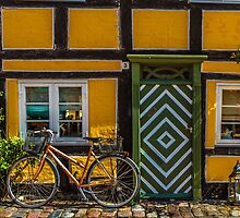 Bicycles of Aero- A small Danish Isle by Quattrophoto