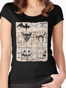 Plans For The Next Halloween Women's Fitted Scoop T-Shirt