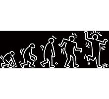 HARING EVOLVES by Tai's Tees Photographic Print