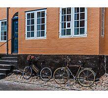 Bicycles of Aero 5 Photographic Print