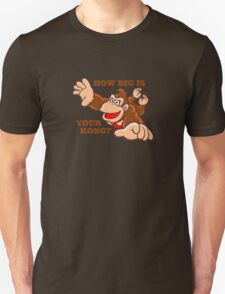 Donkey Kong How Big T-Shirt