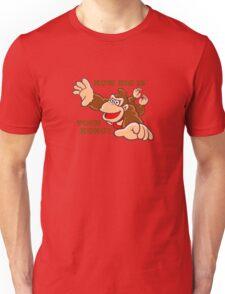 Donkey Kong How Big Unisex T-Shirt