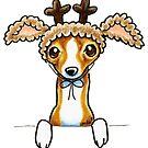 Oh Deer | Italian Greyhound by offleashart
