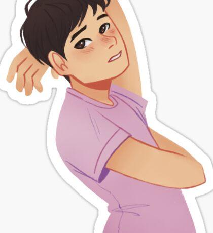 Seductive Katsudon Sticker