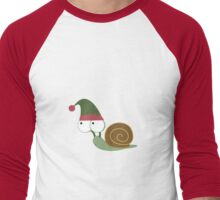 Snail Elf Men's Baseball ¾ T-Shirt