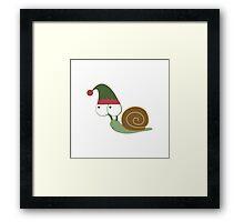 Snail Elf Framed Print