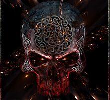 Celtic Skull by Bluesax