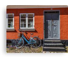 Bicycles of Aero 8 Canvas Print