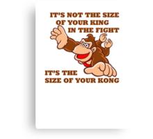 Donkey Kong King Size Canvas Print