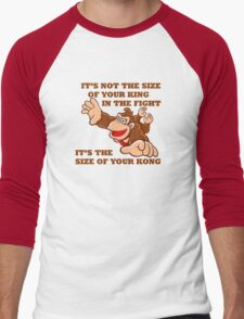 Donkey Kong King Size Men's Baseball ¾ T-Shirt