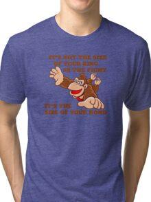 Donkey Kong King Size Tri-blend T-Shirt
