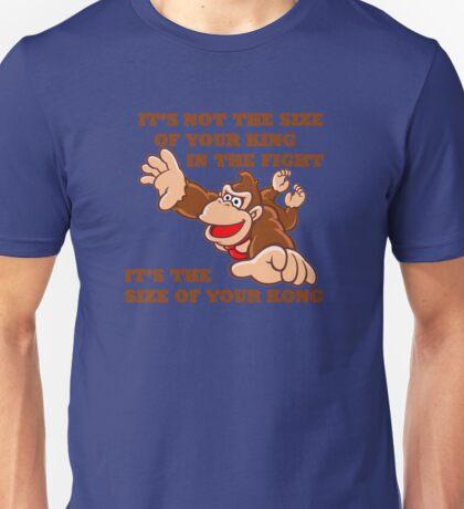 Donkey Kong King Size Unisex T-Shirt