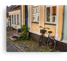 Bicycles of Aero 9 Canvas Print