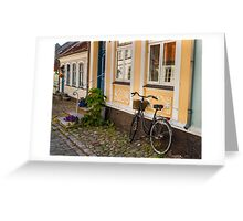 Bicycles of Aero 9 Greeting Card