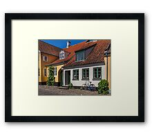 Bicycles of Aero 10 Framed Print