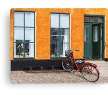 Bicycles of Aero 11 Canvas Print