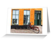 Bicycles of Aero 11 Greeting Card