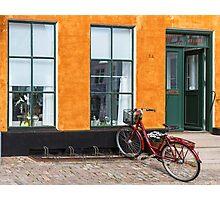 Bicycles of Aero 11 Photographic Print