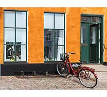Bicycles of Aero 11 Photographic Print