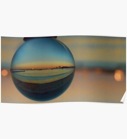 Crystal Sunset Poster