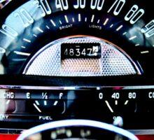 Pontiac 1954 Dash Sticker