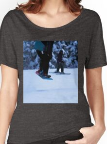 Snowboarder Getting Air Women's Relaxed Fit T-Shirt