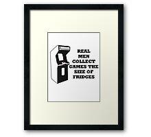 Arcade Collect Fridges Framed Print